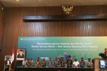 Ditjen Cipta Karya hibahkan aset Rp1,8 triliun untuk Pemerintah Daerah dan Lembaga
