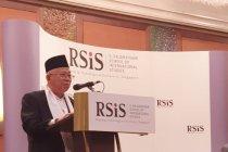 Pidato M\'ruf Amin yang membuat hadirin tertawa
