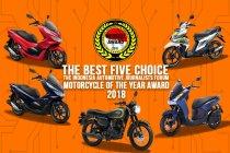 Forwot umumkan lima finalis sepeda motor terbaik 2018