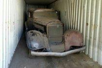 Buick 1934 ini dilelang setelah 4 dekade dalam kontainer