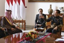 Presiden Terima Menlu Arab Saudi