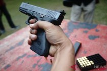 Uji Senpi Glock 17 di Mako Brimob
