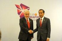 Jokowi juga temu bilateral dengan Presiden Cile