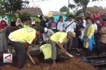 Pemakaman jenazah korban Lion Air di Sukabumi