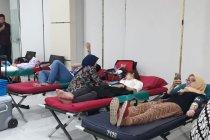 Aksi sosial donor darah warnai rangkaian HUT Indonesia Re ke-33