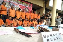 Polisi tangkap 23 preman penguasa lahan legal di Kalideres
