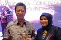 JBM antarkan Wali Kota Jakbar raih penghargaan Komnas Anak
