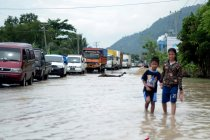 Banjir melanda Kabupaten Tulangbawang Barat-Lampung