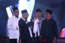 Cawapres Ma\'ruf Amin di Sumatera Utara