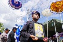 Pemakaman Anggota Brimob Gorontalo