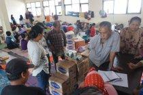 Sebagian warga Kabupaten Bandung masih bertahan di pengungsian meski banjir surut