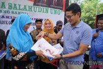 Sandiaga Uno gemas Kebumen daerah termiskin kedua Jawa Tengah