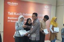 Laksanakan tugas negara, Indonesia Re berikan beasiswa dan bantuan perumahan