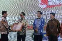 Pemprov DKI Jakarta raih penghargaan tertinggi Indeks Demokrasi