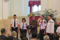 Jokowi dicurhati biaya sertifikasi Satpam mahal