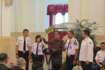 "Satpam \""geruduk\"" Istana Kepresidenan Jakarta"