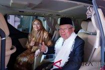 Cawapres Ma\'ruf Amin bersilaturrahmi dengan masyarakat Sukabumi