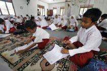 Aktivitas sekolah di Kampar-Riau lumpuh akibat banjir
