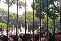 Pendukung OSO kembali lakukan unjuk rasa di KPU