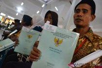 Pemerintah serahkan 8.225 sertifikat tanah warga Banten