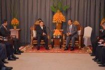 Wapres JK-PM Kamboja temu bilateral di Lotus Blanc Resort Siem Reap