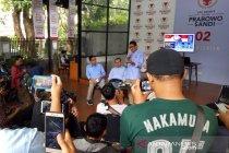 Sandiaga puji penampilan Prabowo saat debat capres