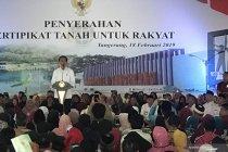 Jokowi sebut sengketa lahan itu seram