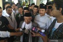 Ma\'ruf Amin sambut baik dukungan Gubernur Riau Syamsuar