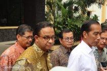 Jokowi bilang punya hubungan baik dengan Anies Baswedan