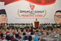 Bagi Prabowo Subianto tiada toleransi untuk koruptor