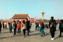 Petang di Lapangan Tiananmen