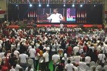 Jokowi targetkan kemenangan 70 persen di Malang Raya