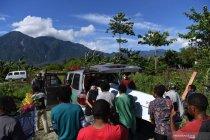Tim DVI Polda Papua pastikan dua kantong tidak berisi jenazah