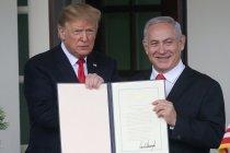 Trump bangga namanya diabadikan di Golan