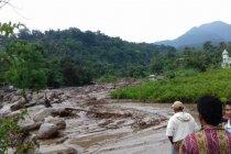 Banjir bandang landa Deliserdang Sumut