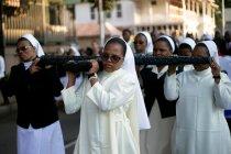 Belasan orang di Afrika Selatan tewas tertimpa tembok gereja