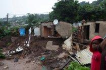 Banjir rusak rumah di Afrika Selatan