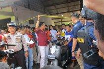 Polisi lakukan rekonstruksi kasus mutilasi guru tari di Kediri
