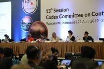 Sidang CCCF ke-13 sepakat adopsi dua dokumen standar keamanan pangan
