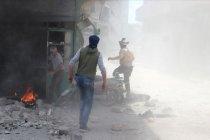 Pelaku teror siapkan penggunaan senjata kimia di idlib-Hama