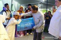 PT Timah kucurkan Rp100 juta beasiswa Tahfiz Quran Pangkalpinang