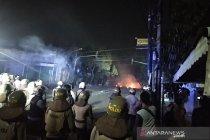 Ketegangan di Jalan KS Tubun Petamburan kembali meningkat