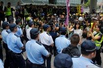Melihat demonstrasi Hong Kong dari dekat