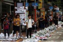 Protes belanjut, tingkat hunian hotel-pariwisata Hong Kong merosot