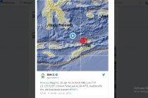 Gempa 5,0 SR guncang Alor NTT
