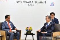 Presiden Moon yakin Indonesia tumbuh dinamis dipimpin Jokowi