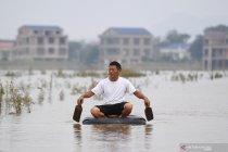 Jumlah korban banjir China capai 17 orang
