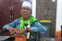 Calon haji lumpuh asal Padang Lawas berharap sembuh di Mekkah