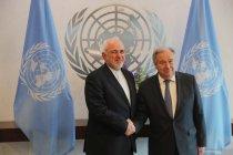 Pertemuan Sekjen PBB dan Menlu Iran di New York