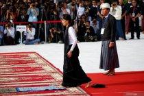 Aung San Suu Kyi menghadiri Peringatan ke-72 Hari Martir Myanmar